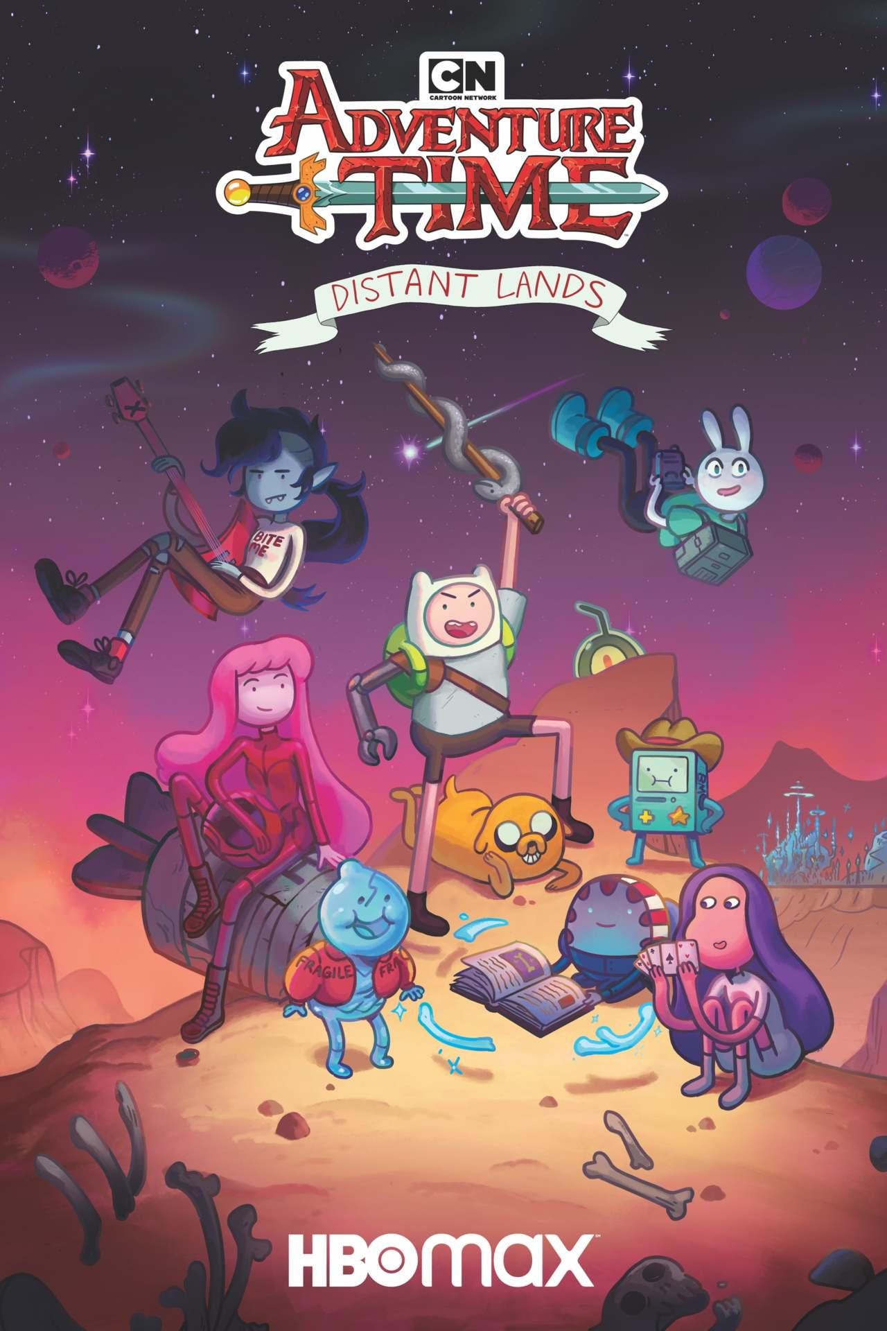 Постер фильма Время приключений: Далекие земли 2020
