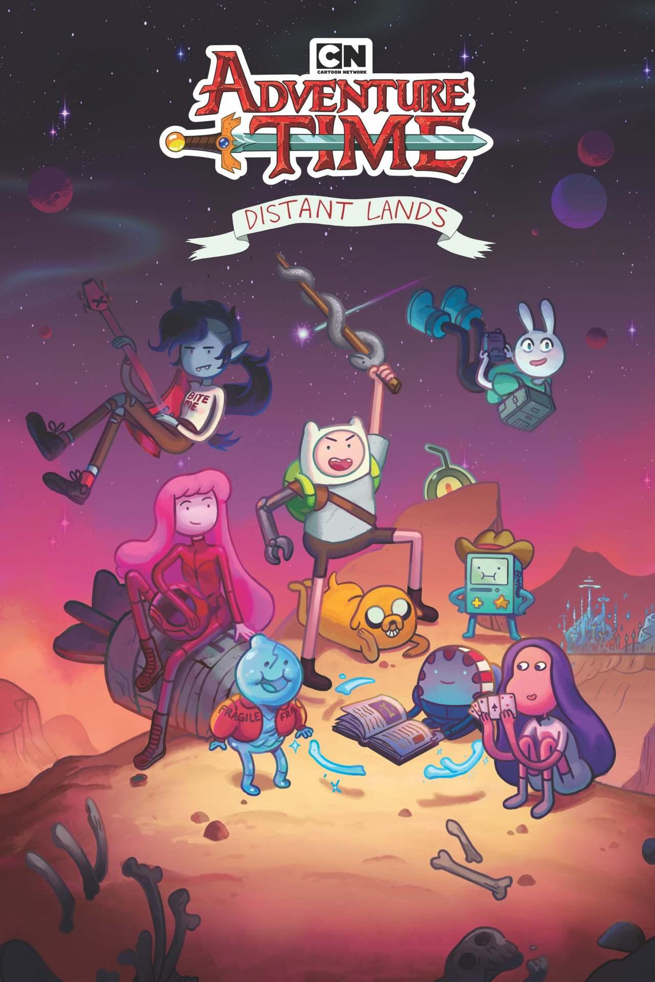 Постер фильма Время приключений: Далекие земли Adventure Time: Distant Lands 2020