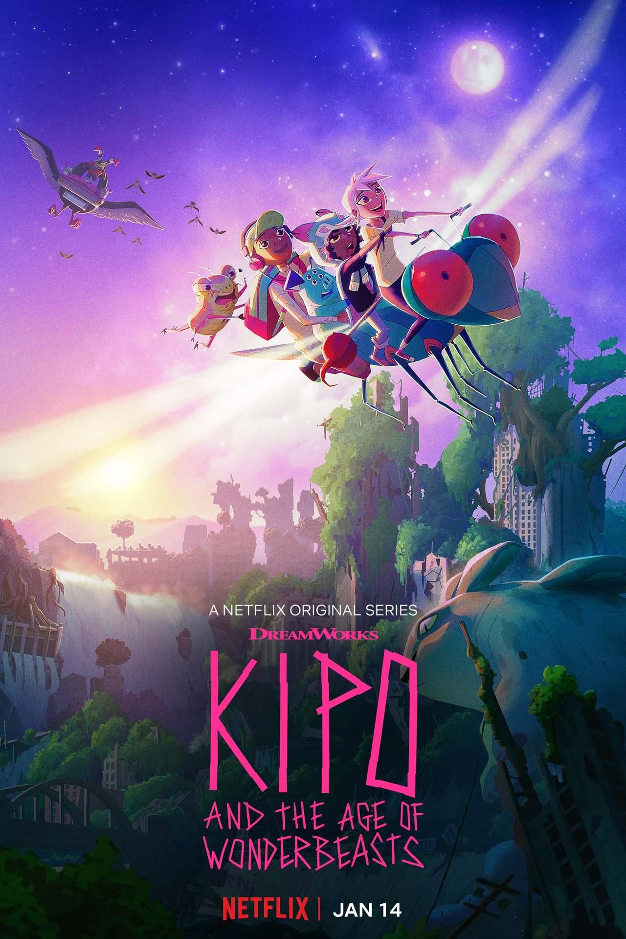 Постер фильма  Kipo and the Age of Wonderbeasts 2020