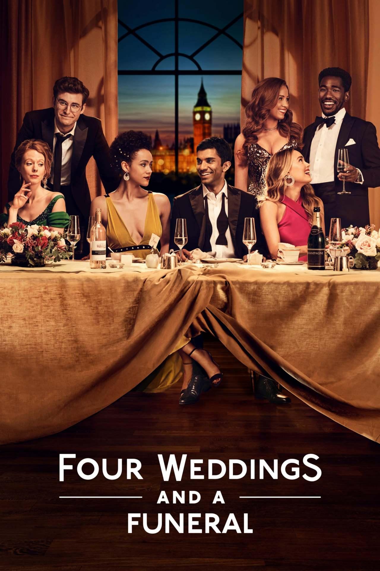 Постер фильма Четыре свадьбы и одни похороны Four Weddings and a Funeral 2019