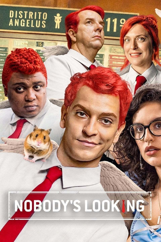 Постер фильма Ninguém Tá Olhando 2019
