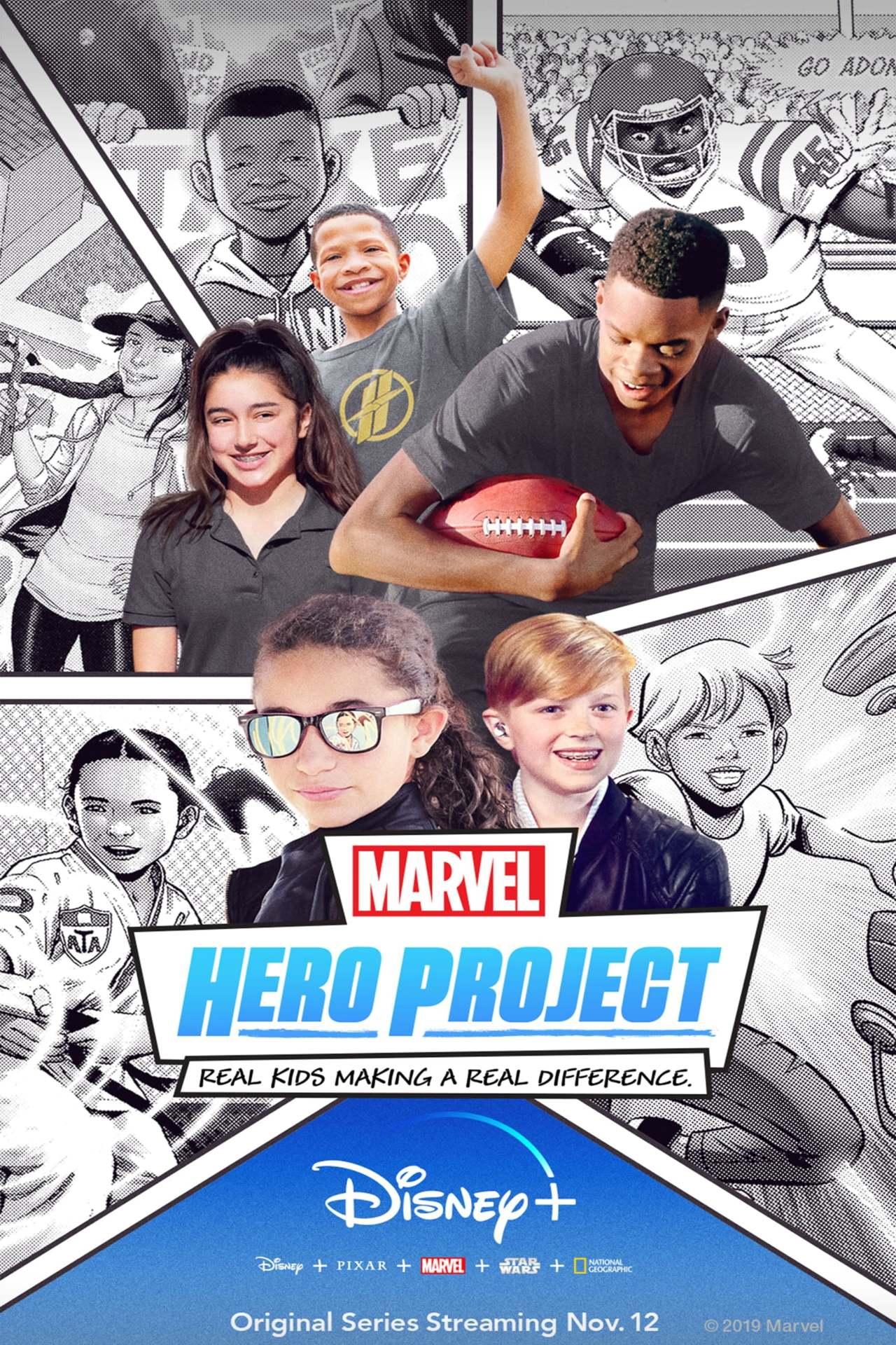 Постер фильма Геройский проект Marvel Marvel's Hero Project 2019