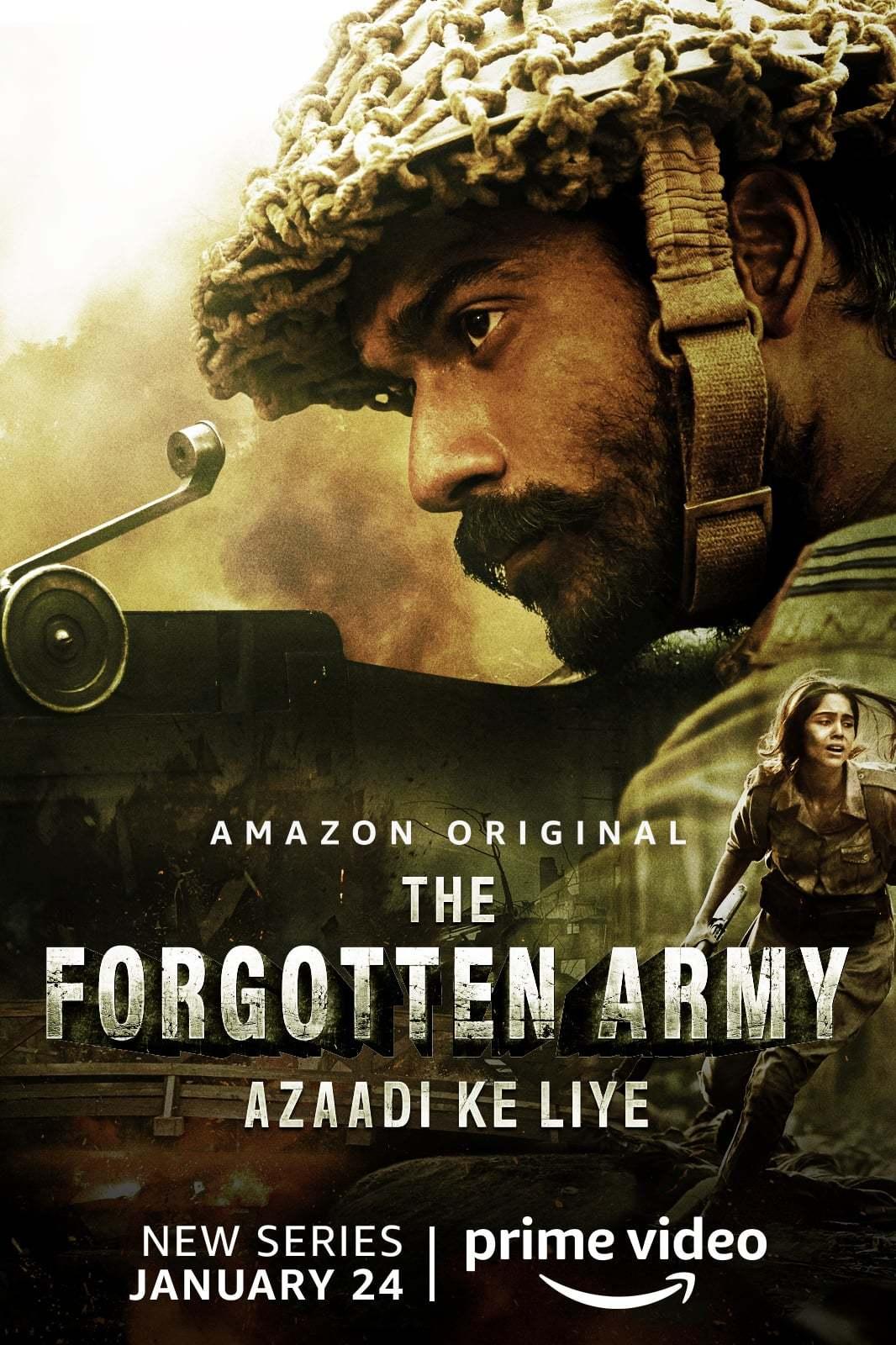 Постер фильма Забытая армия 2020